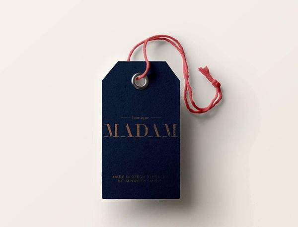 Tisk visaček pro butik MADAM