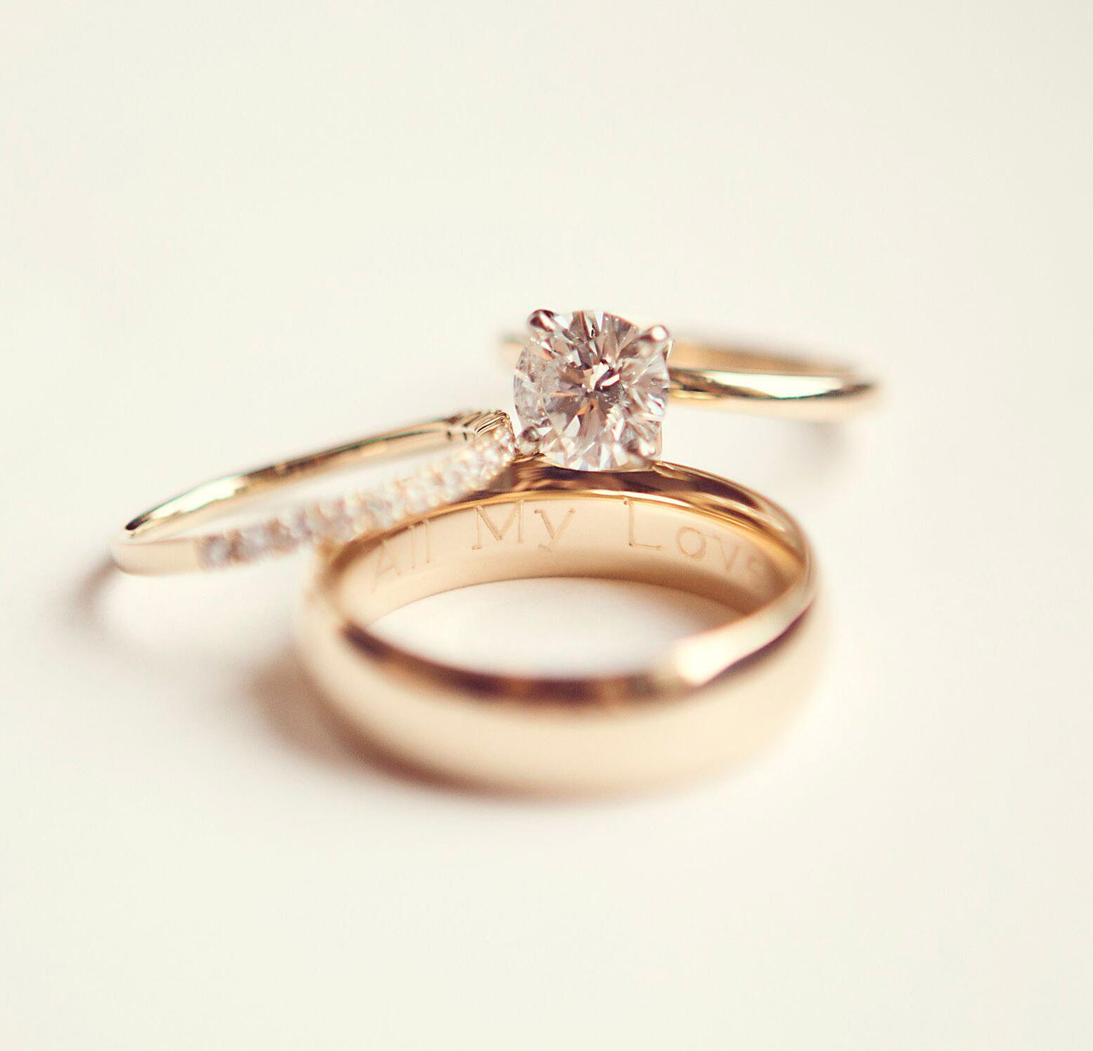 laserové gravírování do snubních prstenů
