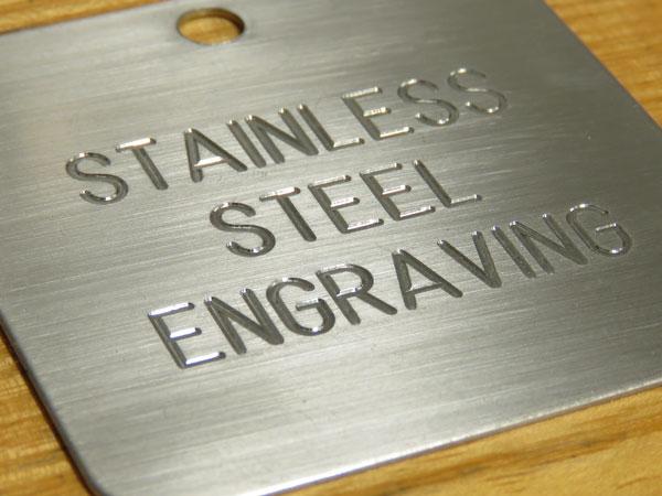 gravírování do nerezové oceli